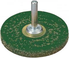 Brosse circulaire à emmanchement haute sécurité ondulée 63x6x mm