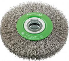 Brosse circulaire inox 125x22mm
