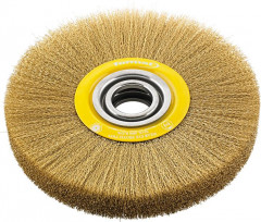 Brosse circulaire laiton 150x24mm