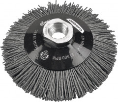 Brosse conique nylon abrasif 100x20mm