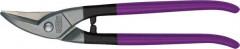 Cisaille à tôle perforée HSS à droite 275mm