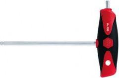 Tournevis à poignée en T et tête sphérique 10x200mm