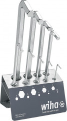 Jeu de clés mâles coudées 352VB1 sur présentoir nickelées 2,5-14x mm