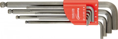 Jeu de clés mâles coudées gris acier 1,5-10x mm