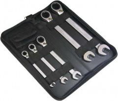 Jeu de clés polygonales réversible 8-19mm 9 pièces