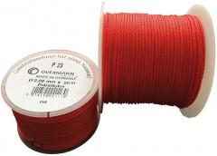 Cordeau de maçon polyéthylène 1mmx50m rouge