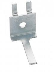 crochet simple droit de 40mm pour panneaux services