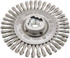 Brosse circulaire X-LOCK acier torsadee 125x6x mm osborn