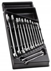 Module 440 de clés mixtes en plateau thermoformé et mousse