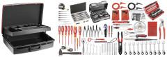Sélection électricien 172 outils - valise