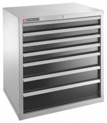 Meuble industriel charges lourdes à 7 tiroirs