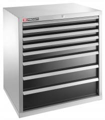 Meuble industriel charges lourdes à 8 tiroirs