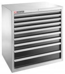 Meuble industriel charges lourdes à 9 tiroirs