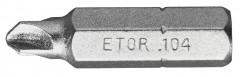Embout standard série 1 pour vis à empreinte Torq Set®