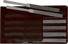 Jeu de limes à contact (automobile) 150mm taille croisée 6 pièces dans trousse PVC FORTIS