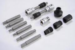 coffret 9 outils pour demontage poulie d'alternateur