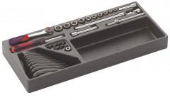 module douilles accessoires 1/4 23 outils