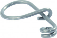 5 clips inox porte outils fme pour clés males 6 pans