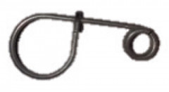 5 clips inox porte-outils fme clés à pipe 18 à 20, clé à molette 18