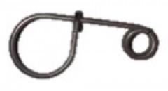 5 clips inox porte-outils fme clés à pipe 8-13mm, clés mixtes 3.2 à 5mm, poignée coulissante 1/2