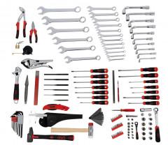 composition 135 outils en modules avec servante 5 tiroirs