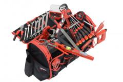composition d'outils plombier en valise textile - 96 outils