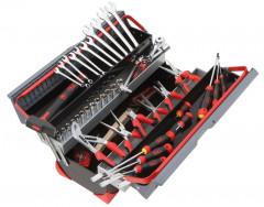caisse à outils bi-matière 50 outils
