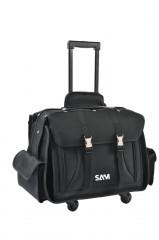 valise textile vide 540 mm avec trolley
