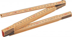 double metre pliant en bois