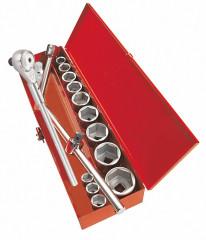 coffret douilles et accessoires 3/4 - 17 outils