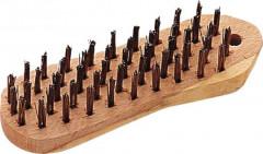brosse metallique forme violon