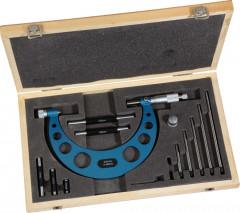 micrometre mecanique exterieur a rallonges