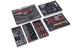 composition de 121 outils racing dans modules