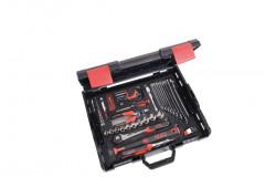 composition 80 outils avec caisse de transport