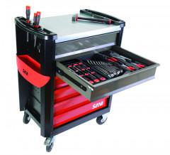composition 119 outils + servante
