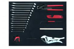 plateau 4 de la composition de 200 outils