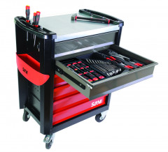 composition 157 outils + servante
