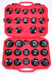 clé en cloches pour filtres a huile coffret de 30 outils