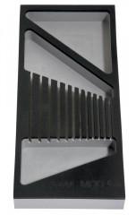 module vide pour cles mixte plate