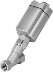 SOUPAPE A TETE INCLINEE  VZXA-A-TS6-20-M2-V13T-16-K-75-20-PR-V4