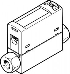 capteur de débit SFAH-50U-G18FS-PNLK-PNVBA-M8