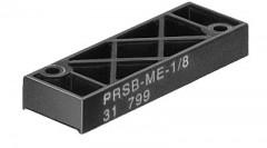 plaque d'obturation PRSB-ME-1/8