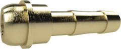 Embout à olive 133998 laiton avec raccord mâle à bille Ø intérieur tuyau 6 RIEGLER