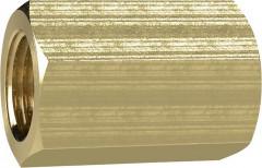 Manchon filetage femelle laiton F1/2